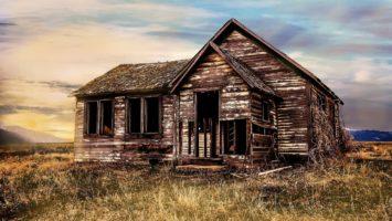 Как оформить заброшенный дом